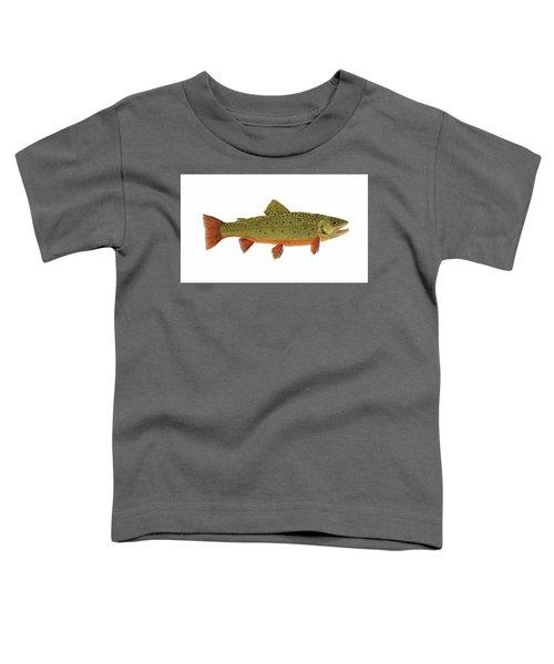 Native Brook Trout Toddler T-Shirt