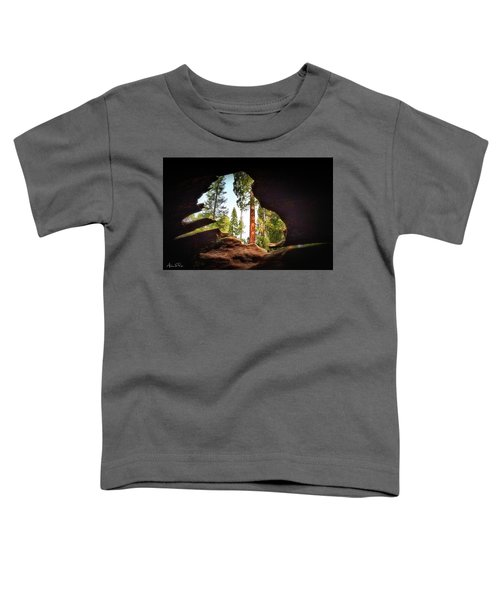Toddler T-Shirt featuring the photograph Natural Window by Andrea Platt