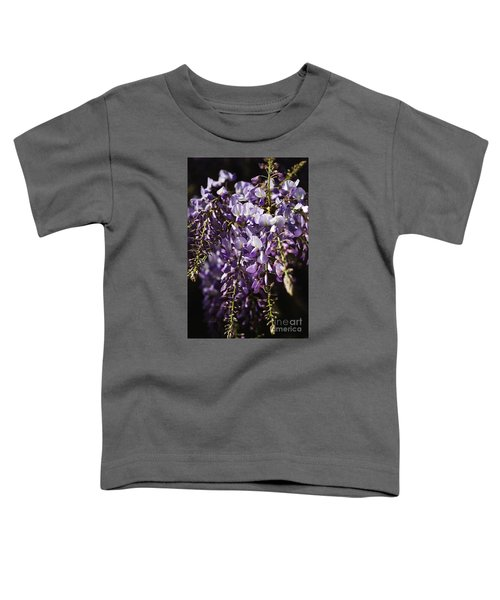 Natural Wisteria Bouquet Toddler T-Shirt