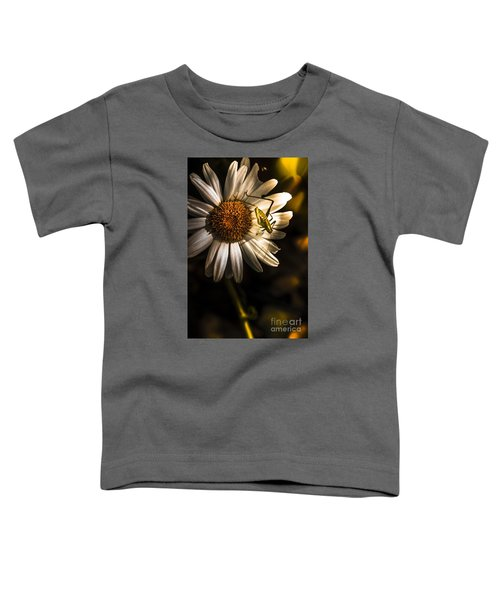 Nature Fine Art Summer Flower With Insect Toddler T-Shirt