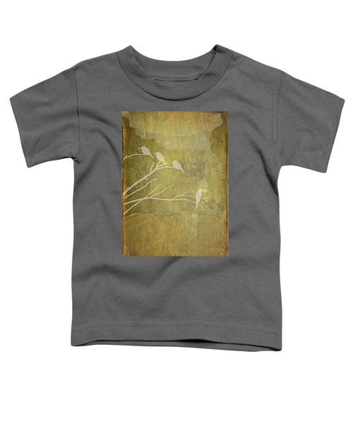 Nature Study In Gold  Toddler T-Shirt