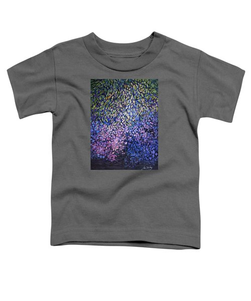 Natures Stain Glass Symphony Toddler T-Shirt