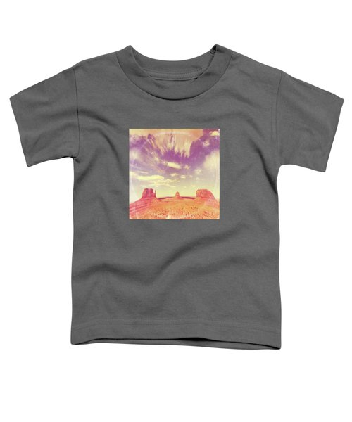 Navajo Country - America As Vintage Album Art Toddler T-Shirt