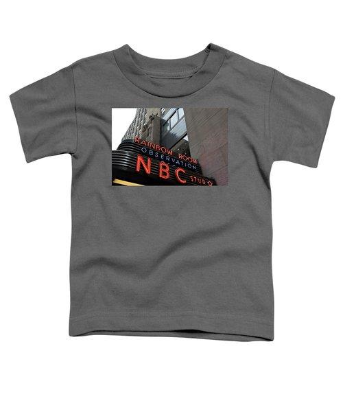 Nbc Studio Rainbow Room Sign Toddler T-Shirt