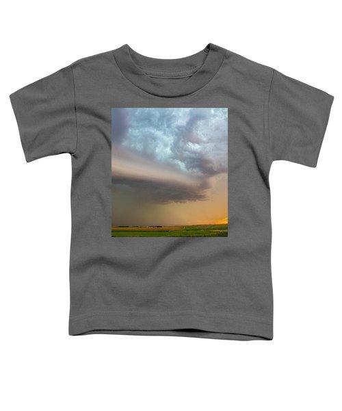 Nebraska Thunderstorm Eye Candy 006 Toddler T-Shirt