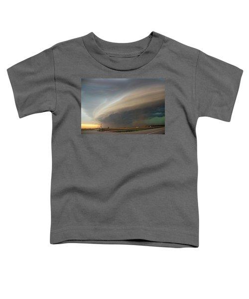 Nebraska Thunderstorm Eye Candy 026 Toddler T-Shirt