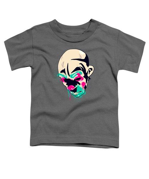 Neon Clown Toddler T-Shirt