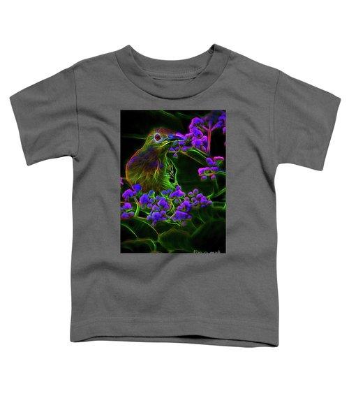 Neon Sunbird Toddler T-Shirt