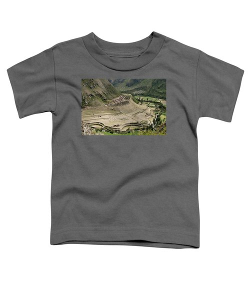 Nestled At The Foot Of A Mountain Toddler T-Shirt