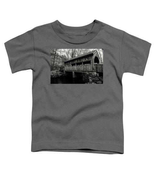 New England Covered Bridge Toddler T-Shirt
