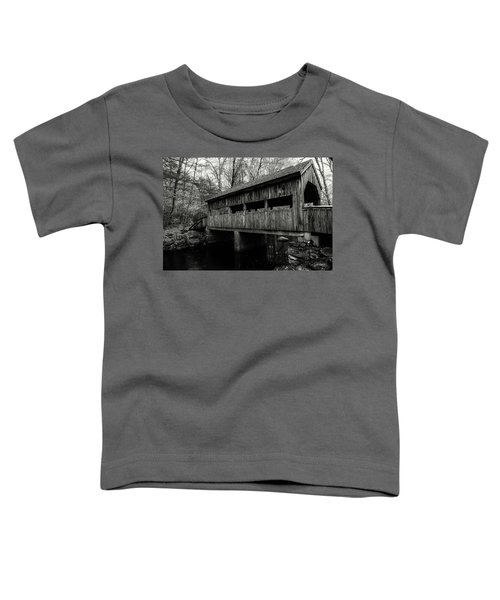 New England Covered Bridge Toddler T-Shirt