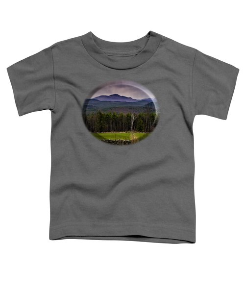 Toddler T-Shirt featuring the photograph New England Spring In Oil by Mark Myhaver