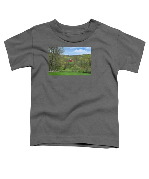 Toddler T-Shirt featuring the photograph New England Spring Pasture by Bill Wakeley