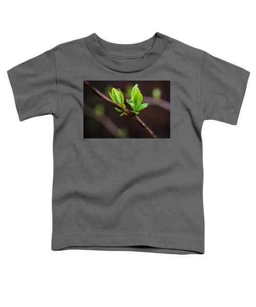 New Growth In The Rain Toddler T-Shirt