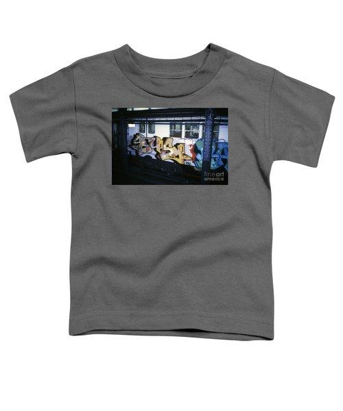 New York City Subway Graffiti Toddler T-Shirt