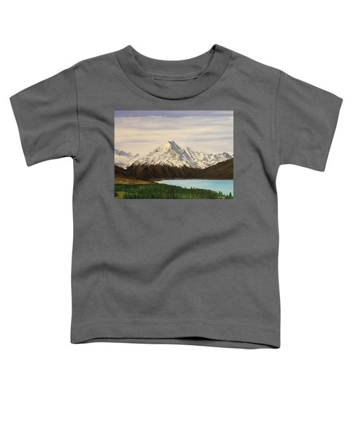 New Zealand Lake Toddler T-Shirt