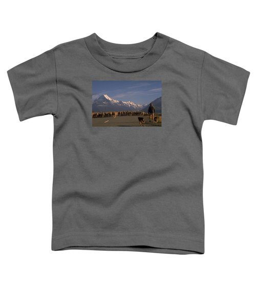 New Zealand Mt Cook Toddler T-Shirt by Travel Pics