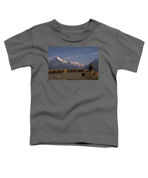New Zealand Mt Cook Toddler T-Shirt