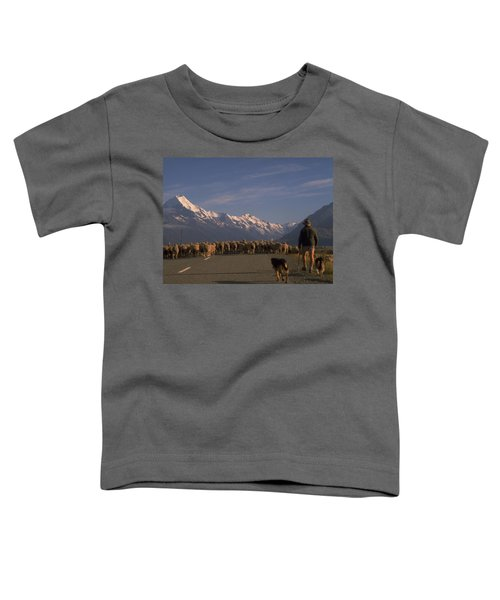 New Zealand Mt Cook Toddler T-Shirt