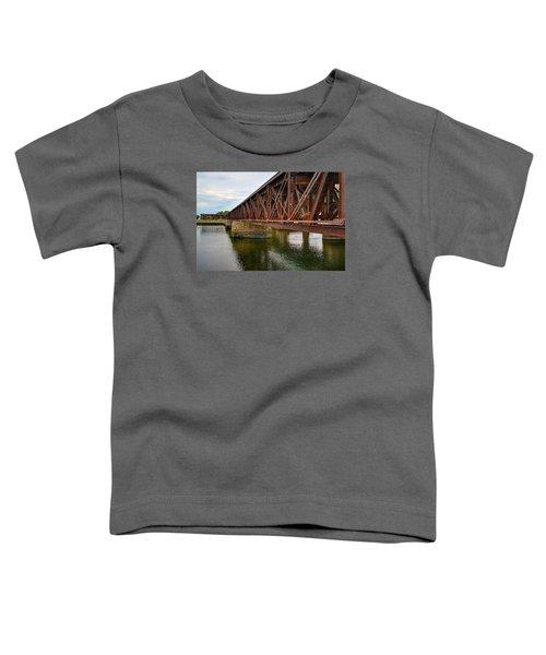 Newburyport Train Trestle Toddler T-Shirt
