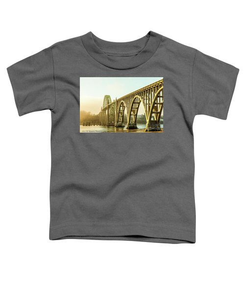 Newport Bridge Toddler T-Shirt