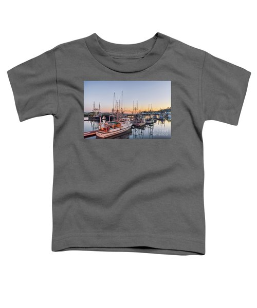 Newport Harbor At Dusk Toddler T-Shirt