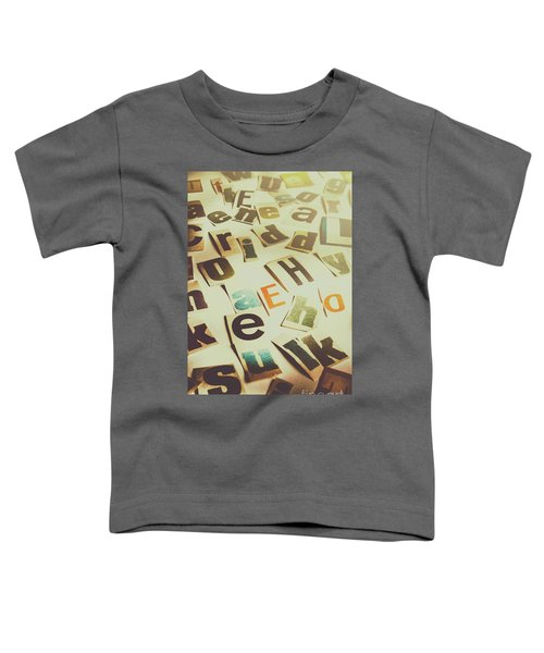 News Scramble Toddler T-Shirt