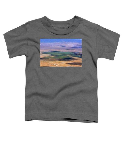 Ngorongoro Crater Tanzania Toddler T-Shirt
