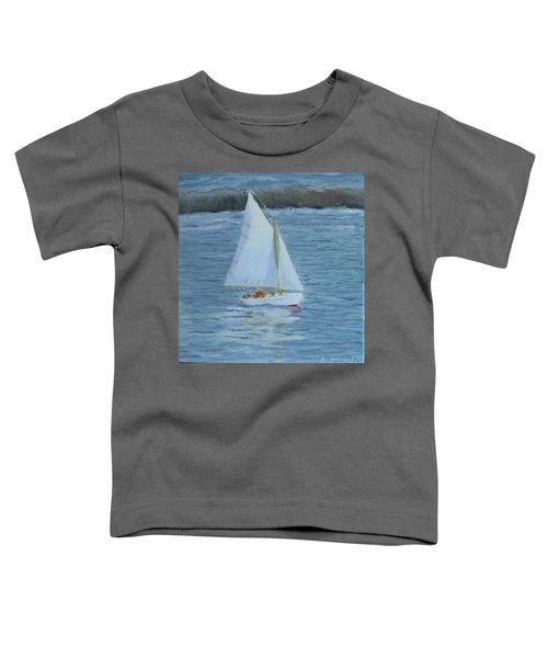 Nice Day For A Sail Toddler T-Shirt