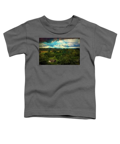 Nice Weather For Trolls In The Shire Today Toddler T-Shirt