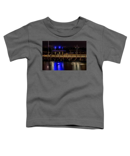 Night Falls On Old Town Pier Toddler T-Shirt