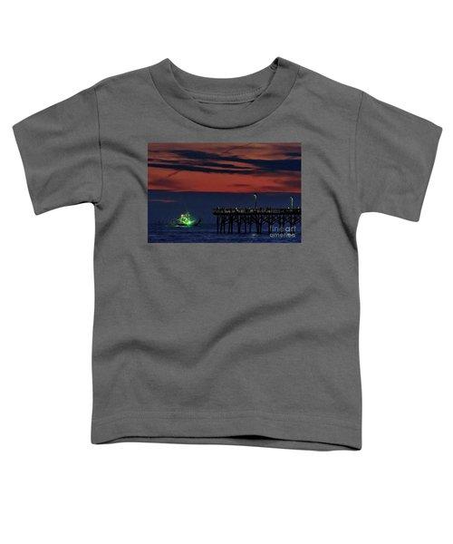 Night Fishing Toddler T-Shirt