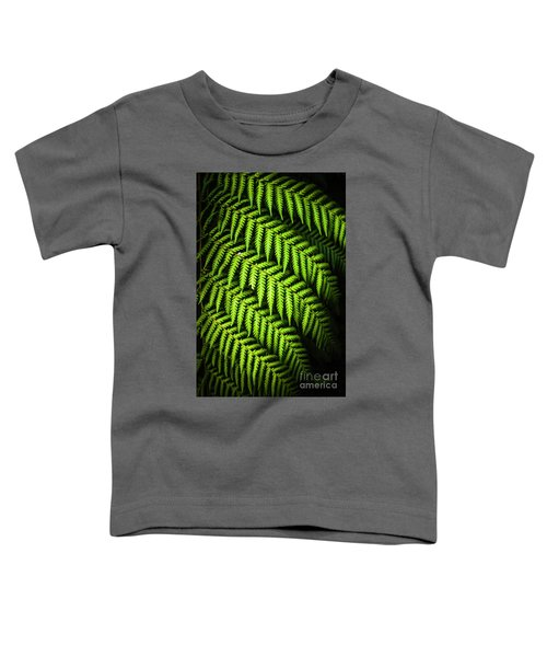Night Forest Frond Toddler T-Shirt