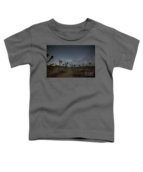 Night Hike Thru Joshua Tree  Toddler T-Shirt