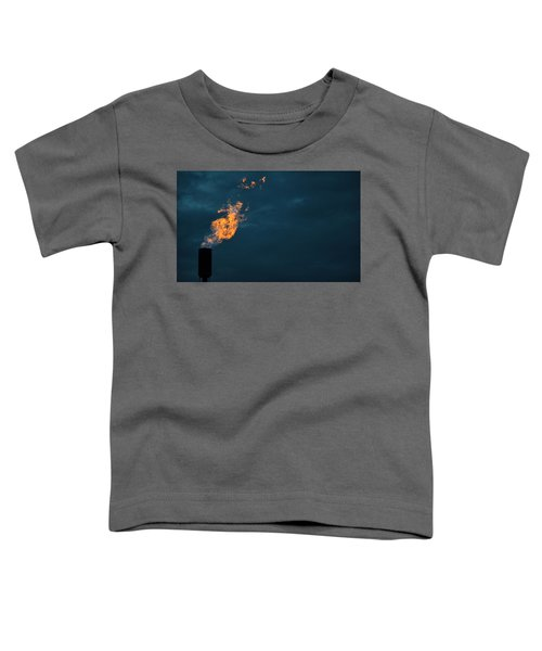 Toddler T-Shirt featuring the photograph Night Light by Carl Young