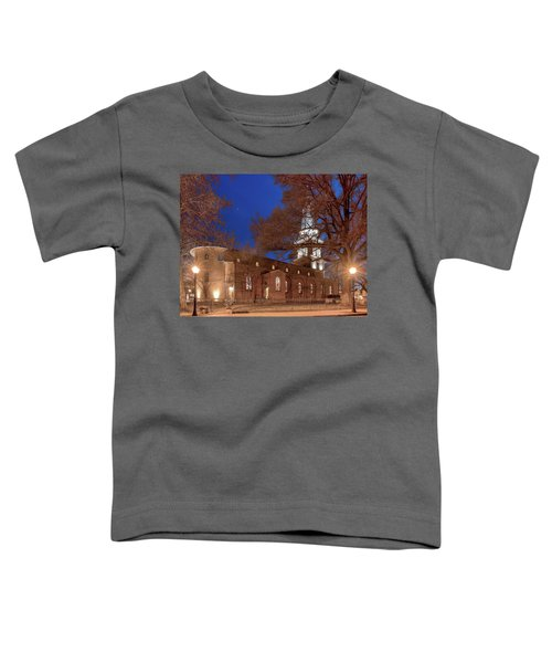 Night Lights St Anne's In The Circle Toddler T-Shirt