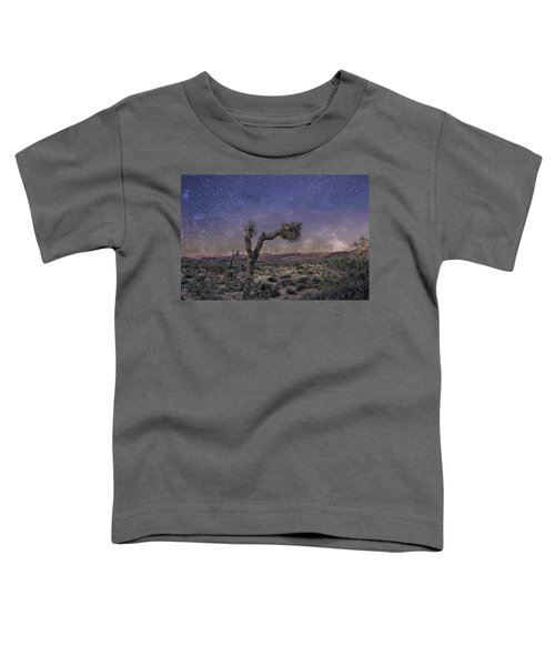 Toddler T-Shirt featuring the photograph Night Sky by Alison Frank