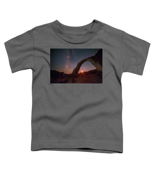 Night Sky At Corona Ach Toddler T-Shirt