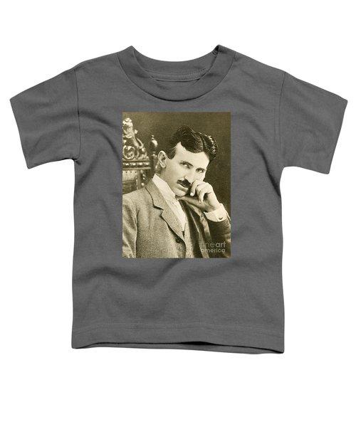 Nikola Tesla, Serbian-american Inventor Toddler T-Shirt