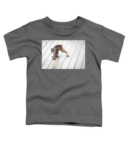 Ninja Lynx Kitty Toddler T-Shirt