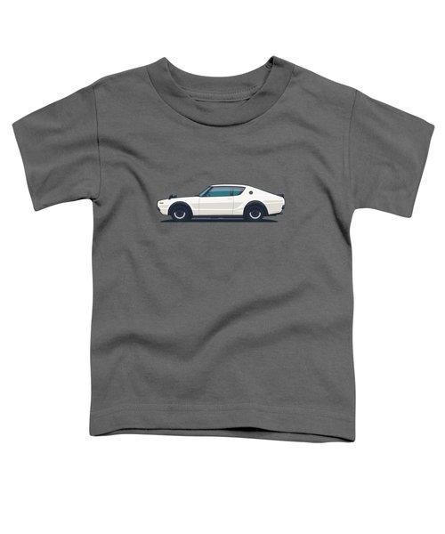 Nissan Skyline Gt-r C110 Side - Plain White Toddler T-Shirt