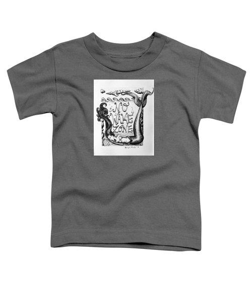No Wake Zone, Mermaid Toddler T-Shirt