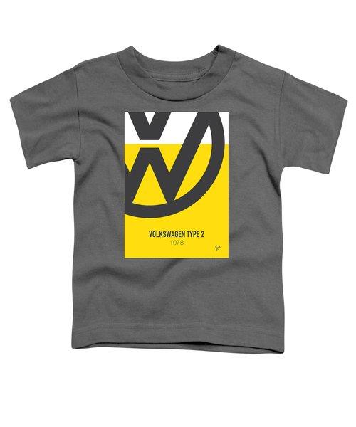 No009 My Little Miss Sunshine Minimal Movie Car Poster Toddler T-Shirt