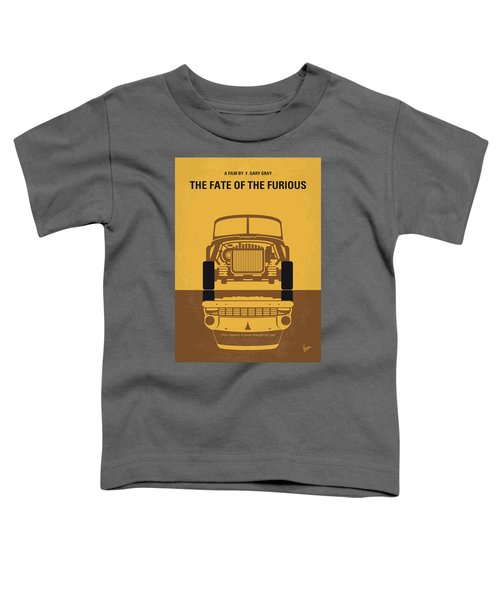 No207-8 My The Fate Of The Furious Minimal Movie Poster Toddler T-Shirt