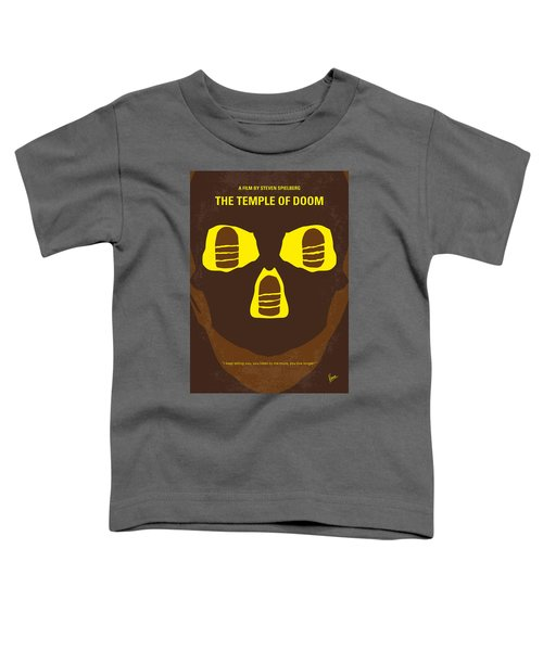 No517 My The Temple Of Doom Minimal Movie Poster Toddler T-Shirt