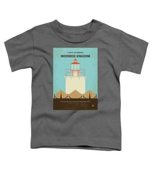 No760 My Moonrise Kingdom Minimal Movie Poster Toddler T-Shirt
