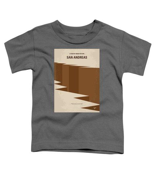 No810 My San Andreas Minimal Movie Poster Toddler T-Shirt