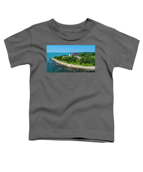 Nobska Lighthouse Toddler T-Shirt