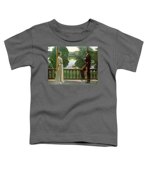 Nordic Summer Evening Toddler T-Shirt
