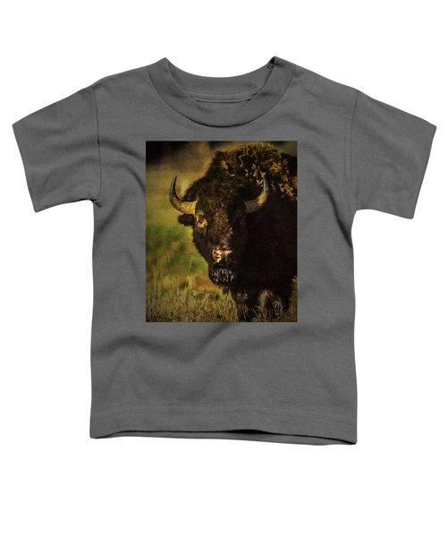 North American Buffalo Toddler T-Shirt